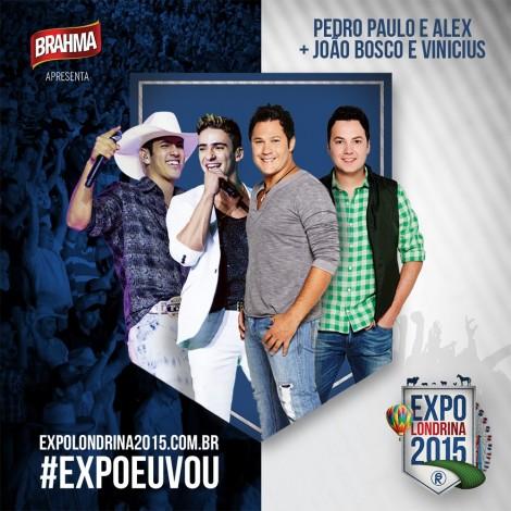 Joテ」o Bosco & Vinテュcius + Pedro Paulo & Alex