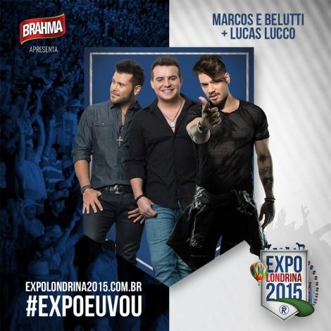 Show de Marcos & Belutti + Lucas Lucco