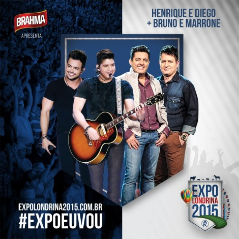 Show de Henrique & Diego + Bruno & Marrone